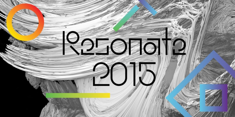 Festival Identity: Resonate1 by FIELD.IO