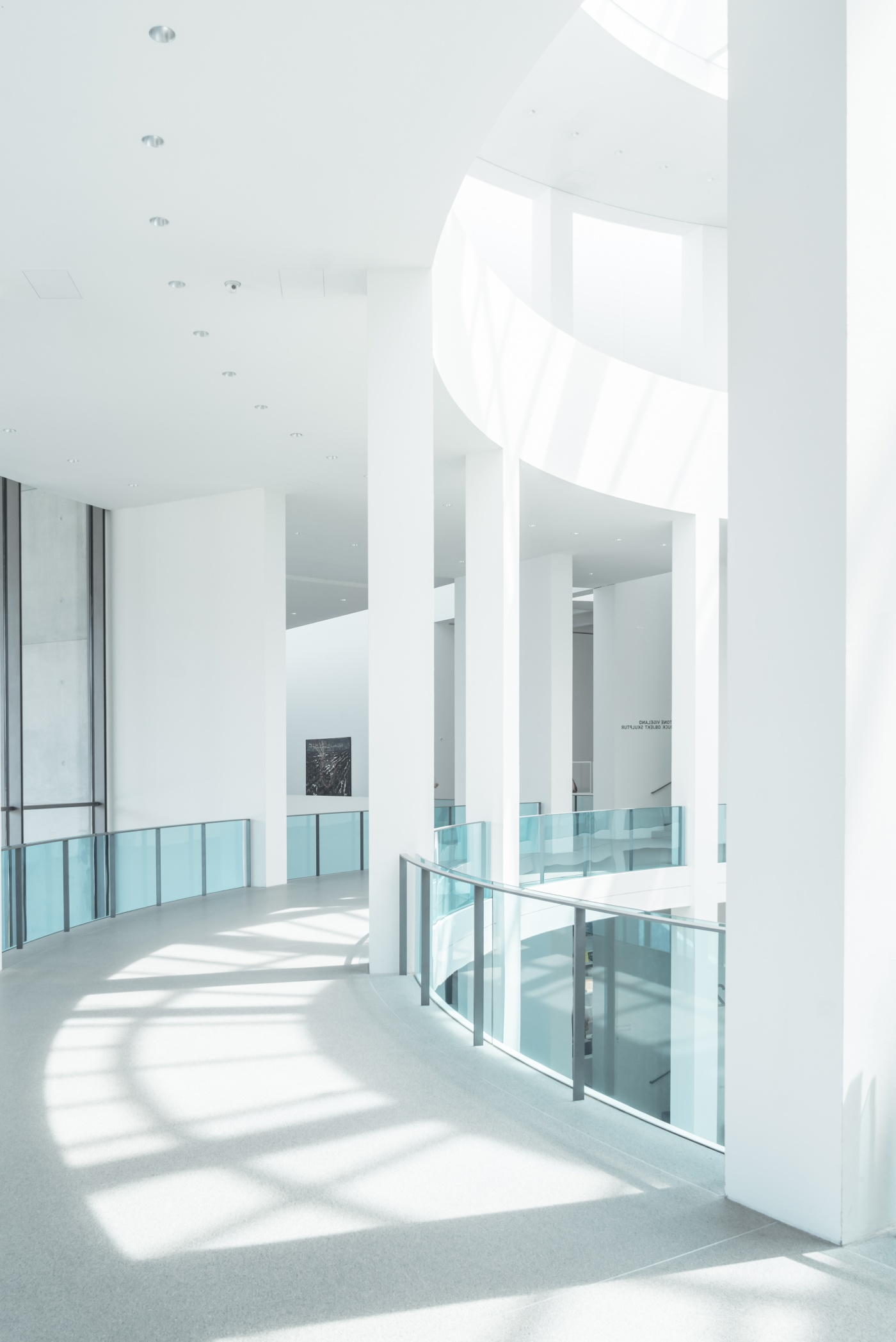 Absence of Colour: Pinakothek der Moderne in White-17 by FIELD.IO