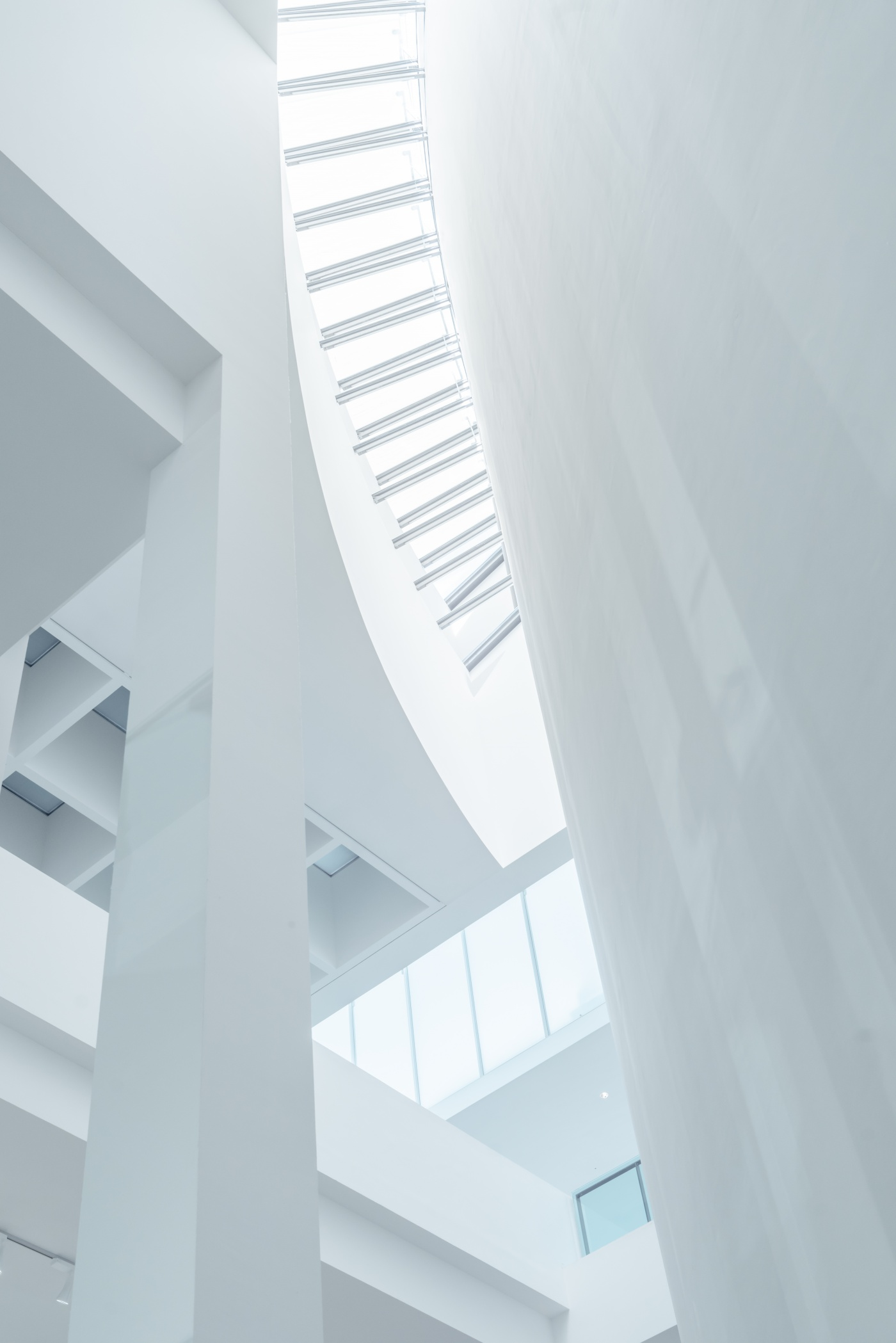 Absence of Colour: Pinakothek der Moderne in White-3 by FIELD.IO